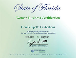 Florida Certified Women Owned Small Business